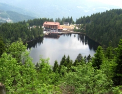 Mummelsee an der Schwarzwaldhochstrasse