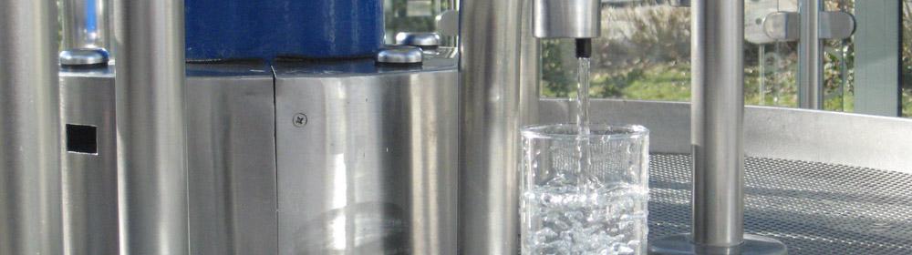 Mineralwasser, Brunnentempel
