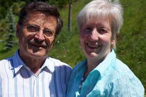 Gastgeberfamilie Franz und Gerda Huber