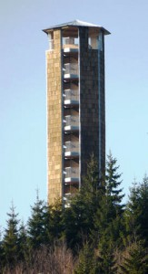 Buchkopfturm im Schwarzwald